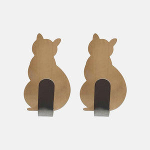 Adorable Self-Adhesive Cat Hooks - Gold - JBCoolCats
