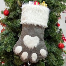 Load image into Gallery viewer, Cute Cat Paw Stocking - Grey - JBCoolCats