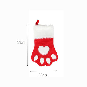 Cute Cat Paw Stocking - Size - JBCoolCats