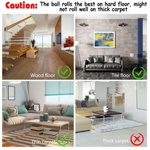 Load image into Gallery viewer, Colorful LED Rotating Ball with Catnip - Flooring - JBCoolCats