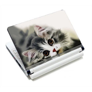 Adorable Kitty Cat Laptop Skins - So Sweet Kitty - JBCoolCats