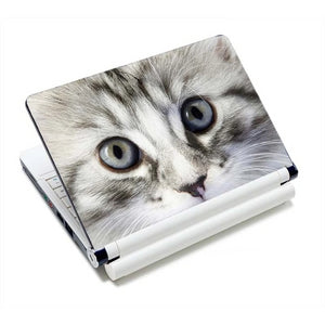 Adorable Kitty Cat Laptop Skins - I See You - JBCoolCats