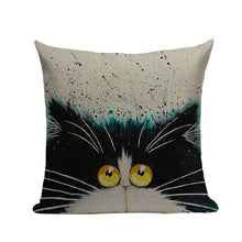 Load image into Gallery viewer, 3D Print Cat Throw Pillow Covers - JBCoolCats
