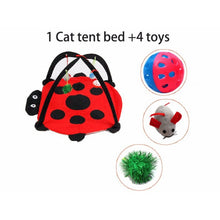 Load image into Gallery viewer, Mobile Activity Cat Play Bed - Features - JBCoolCats
