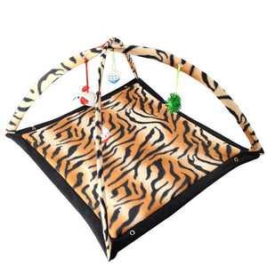 Mobile Activity Cat Play Bed - Tiger - JBCoolCats