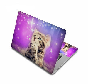 Adorable Kitty Cat Laptop Skins - Dreaming Kitty - JBCoolCats