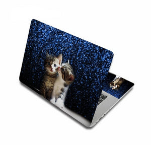 Adorable Kitty Cat Laptop Skins - Starlight Kitty - JBCoolCats