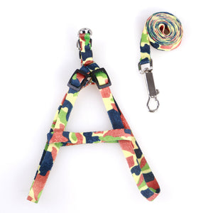 Nylon Cat Harness and Leash - Camo - JBCoolStuff