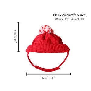Red Christmas Cat Hat - Size - JBCoolCats