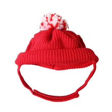 Load image into Gallery viewer, Red Christmas Cat Hat - Accessory - JBCoolCats