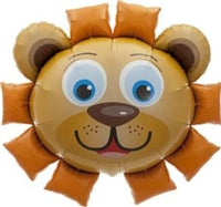 "35""N Animal Lion, Head - Havin' A Party Wholesale"