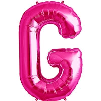 "34""N Magenta Letter G - Havin' A Party Wholesale"