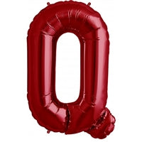 "34""N Red Letter Q - Havin' A Party Wholesale"