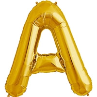"34""N Gold Letter A - Havin' A Party Wholesale"