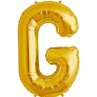 "34""N Gold Letter G - Havin' A Party Wholesale"