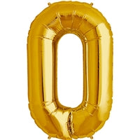 "34""N Gold Letter O - Havin' A Party Wholesale"