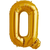 "34""N Gold Letter Q - Havin' A Party Wholesale"