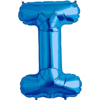 "34""N Blue Letter I - Havin' A Party Wholesale"