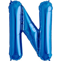 "34""N Blue Letter N - Havin' A Party Wholesale"