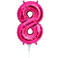 "16""N Magenta Number 8 - Havin' A Party Wholesale"