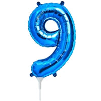 "16""N Blue Number 9 - Havin' A Party Wholesale"