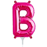 "16""N Magenta Letter B - Havin' A Party Wholesale"