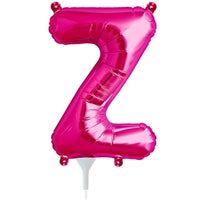 "16""N Magenta Letter Z - Havin' A Party Wholesale"