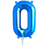 "16""N Blue Letter O - Havin' A Party Wholesale"