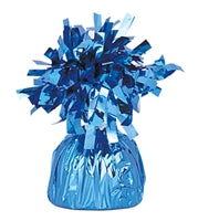 Balloon Weight Small, Blue Peacock - Havin' A Party Wholesale