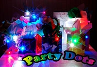 Party Dots, White - Havin' A Party Wholesale