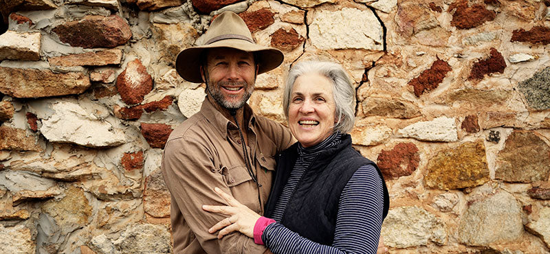 Dayle and Terri Lloyd at Eden Valley Biodynamic Farm