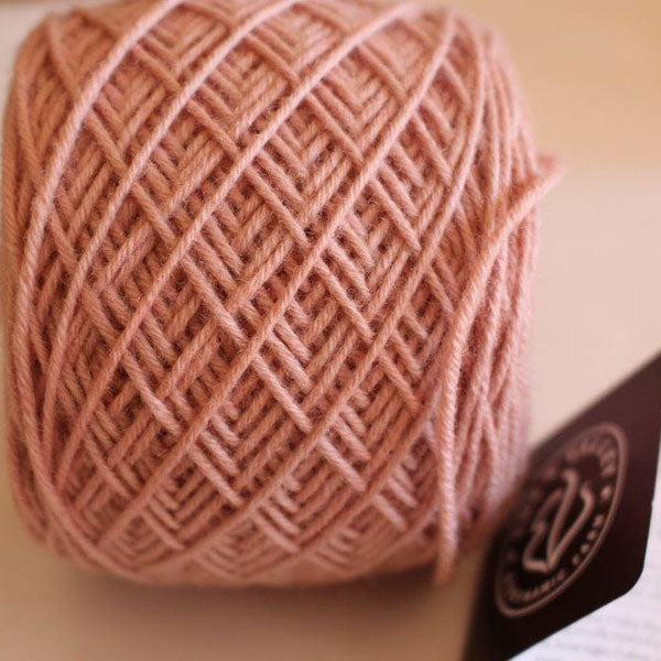 "A limited edition ""Kate Pink"" knitting wool ball"