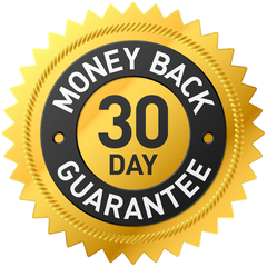 Money Back Guarantee - 30 Days