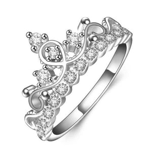 Exquisite Crown Shaped Ring