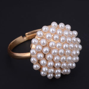 Pearl Shaped Ring