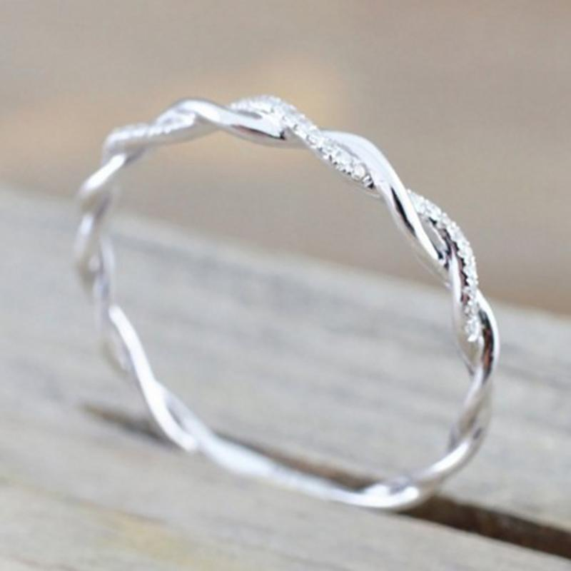 Twist Rope Rings