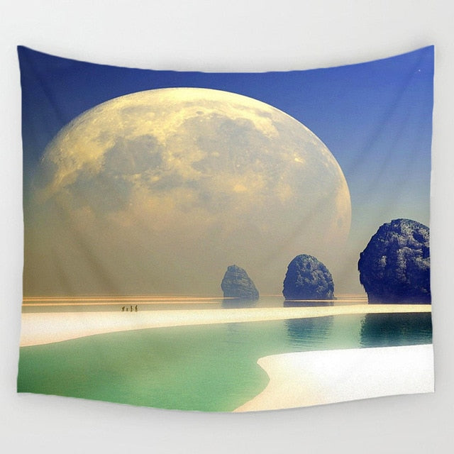 Night Scenic Tapestry