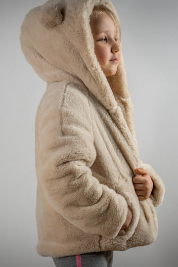 Teddy bear jacket - LOOKHUNTER