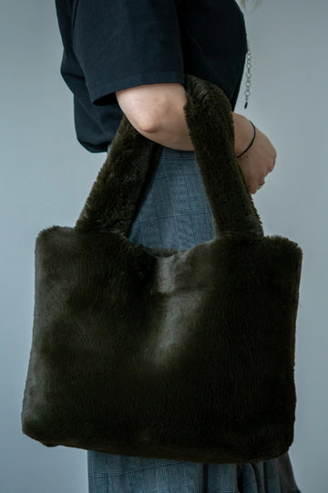 Faux fur purse - LOOKHUNTER