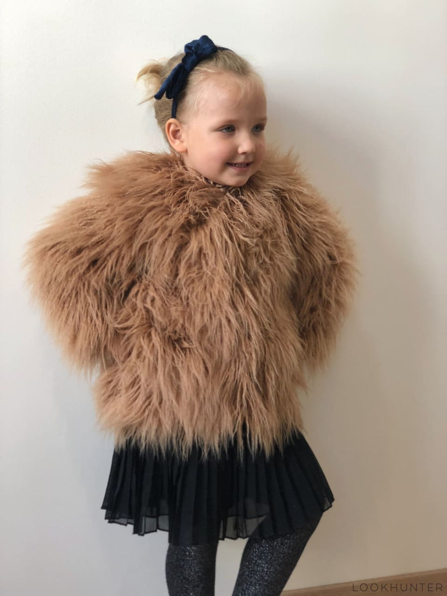 Teddy bear faux fur jacket - LOOKHUNTER