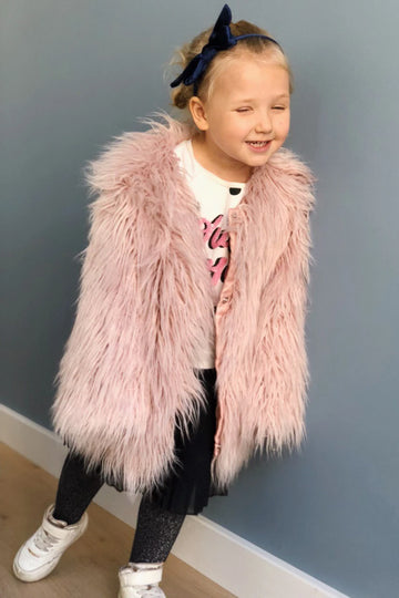 Kids faux fur coat - LOOKHUNTER