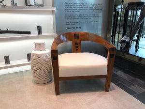 Sifat chair at Lisa Von Tang Boutique - Marina Bay Sands
