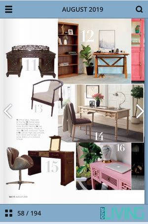 Featured in Singapore Expat Living - Office Furniture Ideas - August 2019
