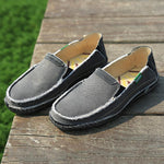 Slip-on Loafers Mocasines Para Hombres Lona-Zapetero