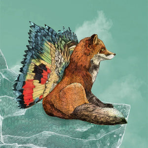 Ilustracion Flying Fox - Galeria Babel