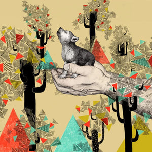 Ilustracion Found You There - Galeria Babel