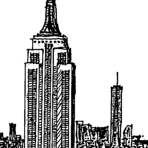 Ilustracion New York - Galeria Babel