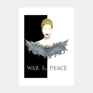 Ilustracion War and Peace - Galeria Babel