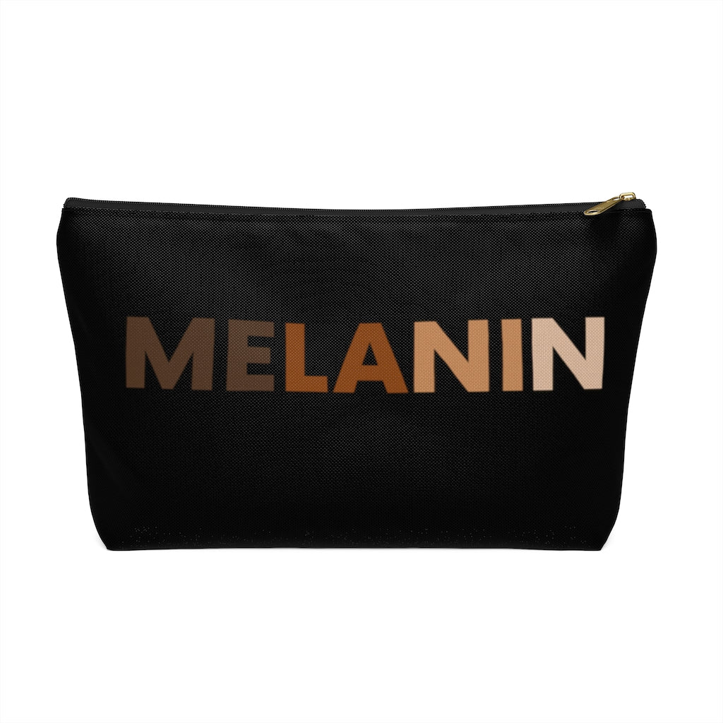 Melanin Accessory Pouch w T-bottom