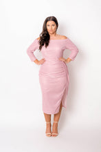 Load image into Gallery viewer, Blush Sexy Off Shoulder Party Dress